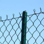 Grillage souple simple torsion en rouleau pour clôture de jardin