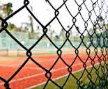 clôture en grillage tennis